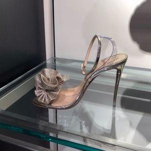 e6eb2e6999 Christian Louboutin Shoes - CHRISTIAN LOUBOUTIN Fossiliza Clear Ankle Sandal